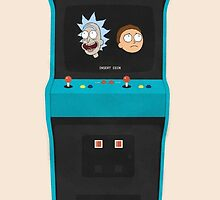 Rick and Morty by williamhenry