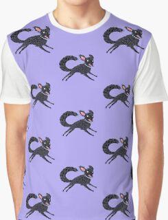 Running Dog Graphic T-Shirt