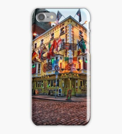 Ireland - Pub in Dublin iPhone Case/Skin