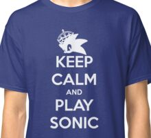 Keep Calm and Play Sonic Classic T-Shirt