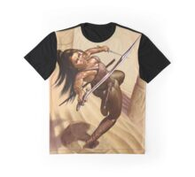Dewa, Desert Warrior Graphic T-Shirt