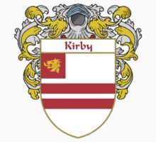 Kirby Coat of Arms/Family Crest One Piece - Short Sleeve
