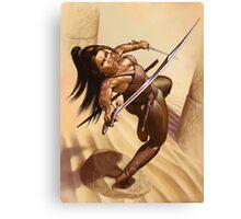 Dewa, Desert Warrior Canvas Print