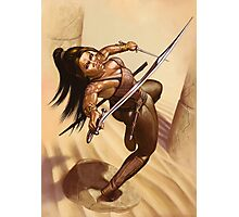 Dewa, Desert Warrior Photographic Print