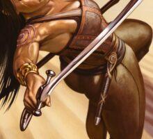 Dewa, Desert Warrior Sticker