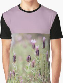 Purple Lavender Graphic T-Shirt