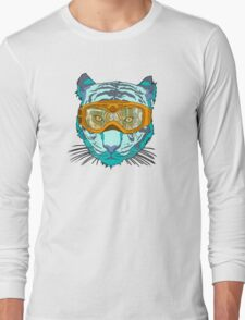 Looking Fierce on the Slopes Long Sleeve T-Shirt