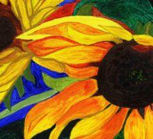 Sunflower Sisters Sticker