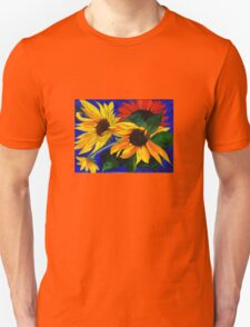 Sunflower Sisters Unisex T-Shirt