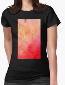 GARDEN OF THE LOST SHADOWS MAGIC GOLD SPARKLES Womens Fitted T-Shirt