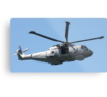 Royal Air Force Merlin Helicopter. Metal Print