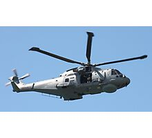 Royal Air Force Merlin Helicopter. Photographic Print