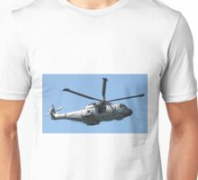Royal Air Force Merlin Helicopter. Unisex T-Shirt