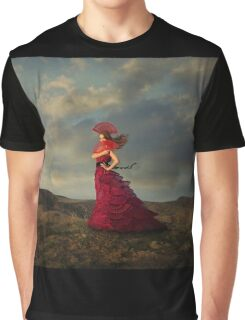 Lady in Red Graphic T-Shirt