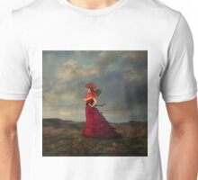 Lady in Red Unisex T-Shirt