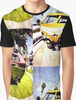 Campervan Surfin' USA Graphic T-Shirt