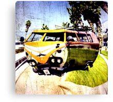 Campervan Surfin' USA Canvas Print