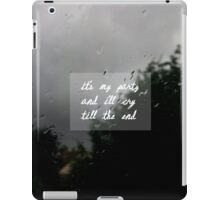 it's my party - the 1975 iPad Case/Skin