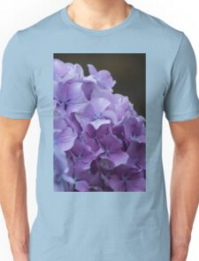 hydrangea in the garden Unisex T-Shirt