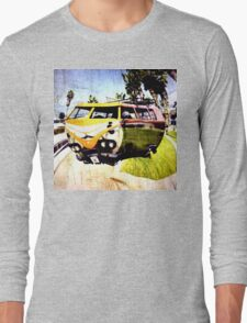Campervan Surfin' USA Long Sleeve T-Shirt