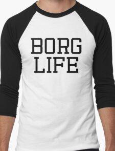 """BORG LIFE"" - CYBORG (DC) Men's Baseball ¾ T-Shirt"