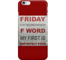 F word iPhone Case/Skin