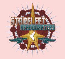 Starfleet Headquarters - Full Back One Piece - Long Sleeve