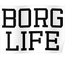 """BORG LIFE"" - CYBORG (DC) Poster"