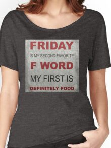 F word Women's Relaxed Fit T-Shirt