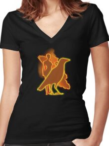 Evers since Women's Fitted V-Neck T-Shirt