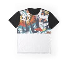 Through Wire and Crystal Graphic T-Shirt