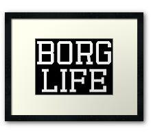 """BORG LIFE"" - CYBORG (DC) Framed Print"