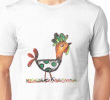 Hippy dippy chicken. Unisex T-Shirt