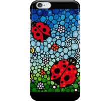 Joyous Ladies Ladybugs iPhone Case/Skin