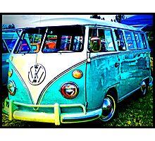 VW Memories Photographic Print