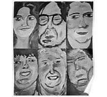 6 People Poster