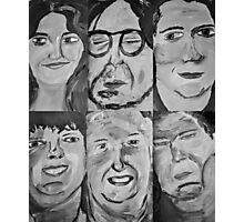 6 People Photographic Print