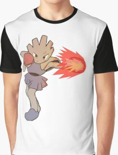 Hitmonchan Fire Punch  Graphic T-Shirt