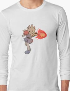 Hitmonchan Fire Punch  Long Sleeve T-Shirt