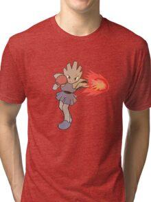 Hitmonchan Fire Punch  Tri-blend T-Shirt