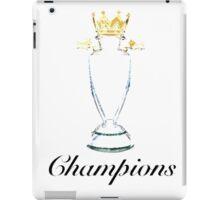 Premier League Champions iPad Case/Skin