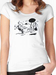 Pulp Fiction - Jules Winnfield Shirt Women's Fitted Scoop T-Shirt