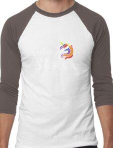 Feeling Stabby Unicorn humor Men's Baseball ¾ T-Shirt