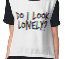 Do I Look Lonely? (White) Chiffon Top