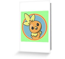 Cute Chick Greeting Card