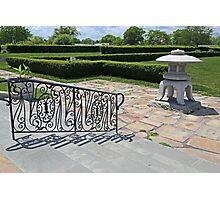 Belle Isle Conservatory Garden Photographic Print