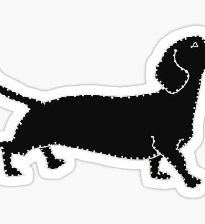 Connect The Doxie Dots Sticker