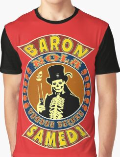 Baron Samedi Colour Graphic T-Shirt
