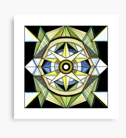 Shine Your Heart Canvas Print