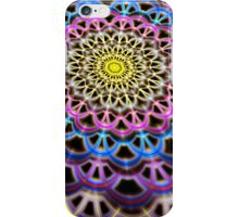 Colorful Crackle Weave iPhone Case/Skin